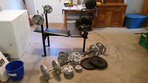 Complete Weight set for sale