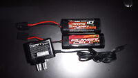 Traxxas nimh batteries and chargers for sale