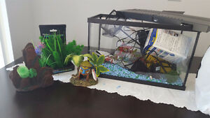 Fish tank and all brand new accessories