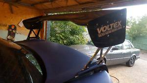 Replica voltex V mount wing STi