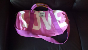 XL pink VICTORIA'S SECRET LOVE PINK gym bag