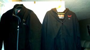 Black Milwaukee Heated Jacket & Black Heated Hoodie