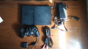 Playstation 2 / Ps2 Complete With Cords & Controller