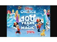 2 X Disney on Ice Tickets - Cardiff - AMAZING SEATS