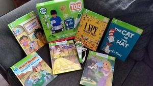 Leapfrog TAG home reading system with pen and 6 readers