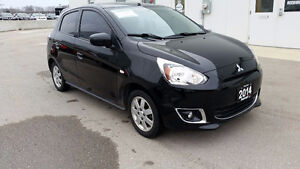 2014 Mitsubishi Mirage SE, 5 Speed, 50+MPG! One Owner!