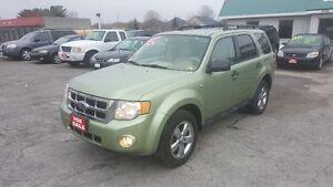 2008 Ford Escape XLT 4X4 *** FULLY LOADED *** CERT $6995