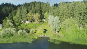 5 acre Waterfront Resort on Saltspring  Island for Sale...