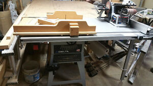 """DELTA 10"""" Contractor Table Saw Platinum Edition with EXTRAS"""