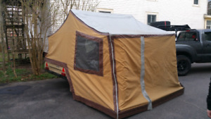 Combi-camp family tent trailer