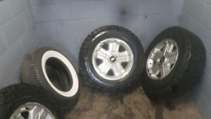 18 INCH FACTORY 6 BOLT CHEVY WHERL PKG