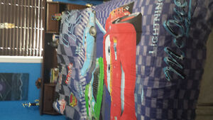 Cars Twin comforter and sheet set
