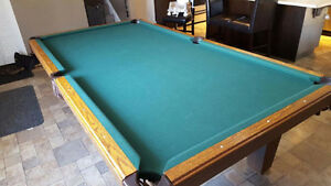 Olhausen Slate, Pool Table
