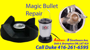 Repair, Magic Bullet, Free Estimate, No Power, Not Running