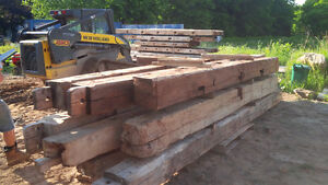 Hand Hewn Barn Beams. Hundreds to choose from! Kitchener / Waterloo Kitchener Area image 4