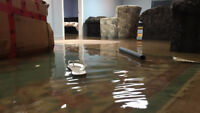 **Basement flooded? Hard to find someone to come and clean it?**