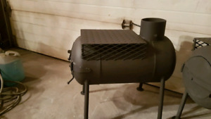Pot belly wood stoves