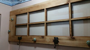 Reclaimed coat rack with nature inspired hooks Kitchener / Waterloo Kitchener Area image 1