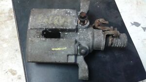 GM Rear Calipers and Brackets