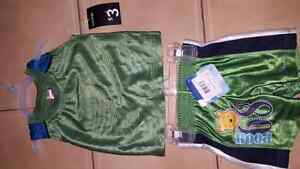 Toddler muscle shirt and shorts 6M