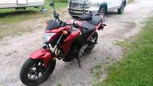 Honda street bike for trade