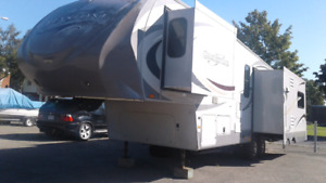 Roulotte a sellette (5th wheel) Greystone by Heartland