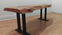 Reclaimed wood bench URGENT NEGO