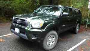 2013 Toyota Tacoma SR5 w/canopy and tires.