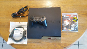 PS3 with HDMI, Controller, and Game