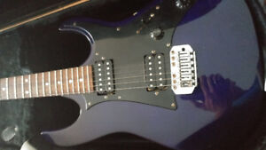 Ibanez Gio Electric Guitar (Purple) + Hard Case