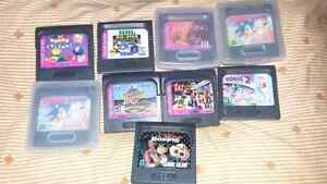 Game gear with 9 games London Ontario image 2