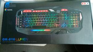 Like New Xtreme Gaming Light Up Gaming Keyboard