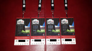 Four (4) Grey Cup Tickets - Calgary vs. Toronto - Row 12 !!!