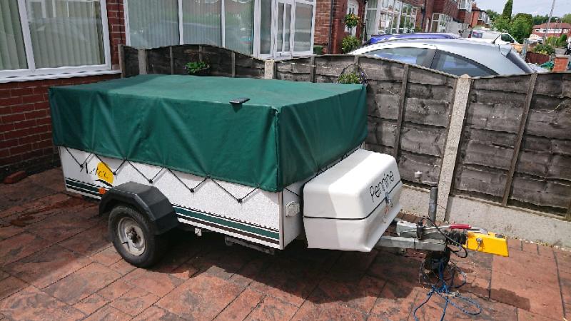 Pennine Aztec ,Folding Camper Van, Trailer tent | in High ...
