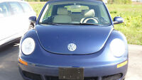 2006  VW BEETLE 2.5L GAS CONVERTIBLE MANUAL $5800