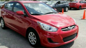 2013 Hyundai Accent 90,000 ONLY(SAFETY & E TEST)