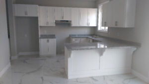 Kitchen Shaker White(Brand new) w/ full Granite Counter Tops
