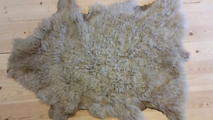 Sheepskins -- home or craft use -- various wool types and colour