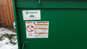 GREENLEE tool chest 2448 great condition