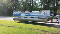 PONTOON BOAT 22 50 OMC EASY FINANCE-EASY TRADE $6999