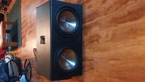 2 12 inch Insignia Subwoofers