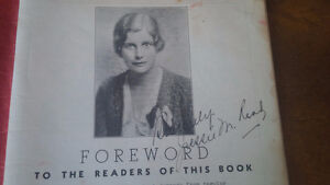 Cookbook: Three Meals A Day, Signed by Jessie Read.1934 Kitchener / Waterloo Kitchener Area image 2