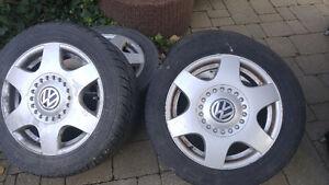 2000 VWbug rims for winter tires London Ontario image 1