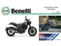 BENELLI LEONCINO 500 FANTASTIC NEW MODEL WITH SUPERB FINANCE PACKAGE