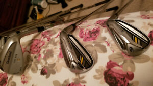 Taylormade Golf Set with Golf bag, clubs, putter and more $700
