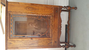 Antique Buffet and table with 4 chairs