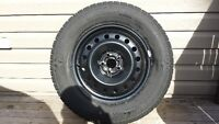 Cooper Discoverer Snow Tires and Rims (Set of 4) Subaru