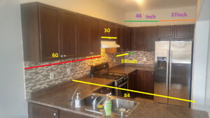Kitchen for sale with Countertop and sink