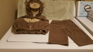 Monkey Costume - Carter's - Size 6 / 9 Months