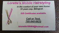 Lorette's Mobile Hairstyling